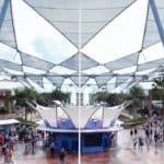 Epcot Spaceship Earth Former Siemens VIP Lounge Full Tour, Future World Views, IllumiNations History