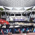 Epcot Construction Update from Monorail 10/27/19