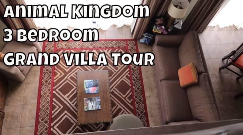 Animal Kingdom Lodge 3 Bedroom Grand Villa Tour – Magical Mondays #121