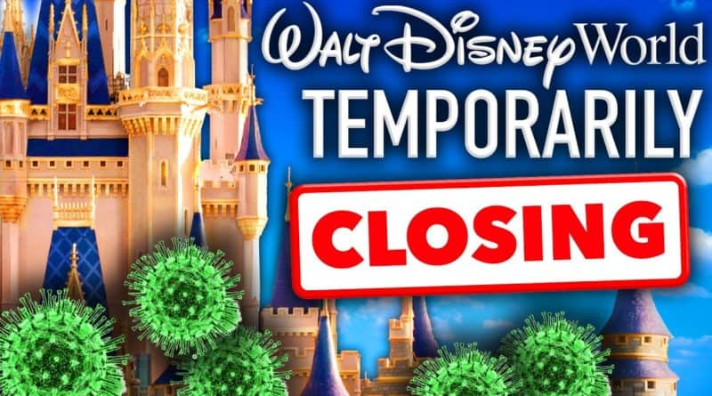 Walt Disney World CLOSING Temporarily Due to Viral Outbreak