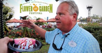 Flower & Garden Festival 2020 – Touring Epcot With Disney Horticulture