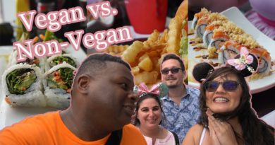 Splitsville Dining Room – Vegan & non-vegan food review with friends – Disney Springs