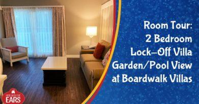 Boardwalk Villas 1 Bedroom Villa Garden Pool View Room Tour Mouse And Castle